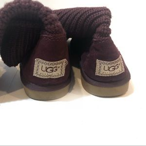 UGG Shoes - UGG women's classic Cardy purple knit size 9